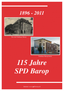 Festschrift zur 115 Jahrfeier