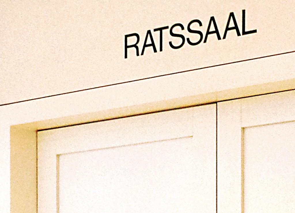 Tür Ratssaal
