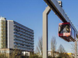 H-Bahn an der Universität